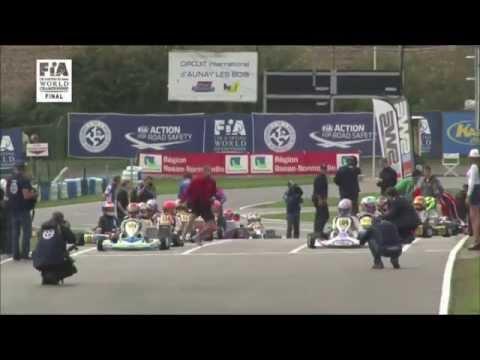 Mick Junior (Michael Schumacher's son) - 2nd place World Championships 2014 - KF Junior Final