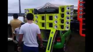Gol Do Frango Montando o Som Part:Paredão X2 Savox