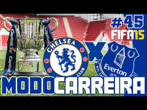 FIFA 15 Modo Carreira #45: Chelsea na final da Copa Capital One! [Completo]