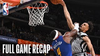 SPURS vs NUGGETS | San Antonio & Denver Go Down To The Wire | Game 1