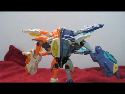 transformers animated jetfire and jetstorm review safeguard