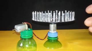 Amazing fan । बिना लाइट का पंखा बनाने का बिल्कुल आसान तरीका। विज्ञान मॉडल । science project ।kkk
