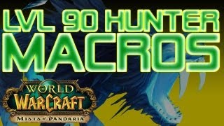World of Warcraft Macros - Hunter Macros, level 90 - WoW: Mists of Pandaria Patch 5.0.5