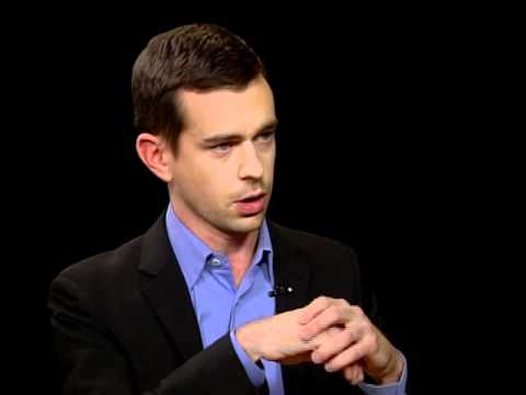 Charlie Rose And Jack Dorsey (Square)