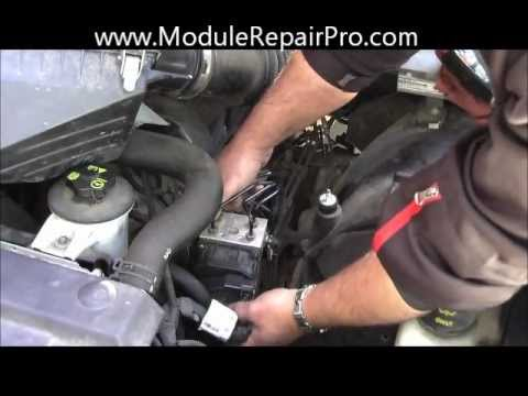 How To Remove Abs Pump Control Module Ford Crown Victoria Youtube
