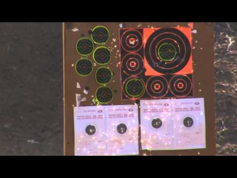 Savage Mark II 22LR AMMO TEST using CCI Federal and Winchester Ammo.m2ts