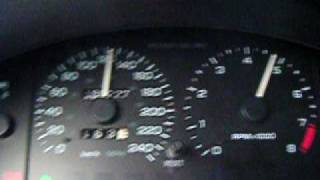 Ford Probe 2,5GT maximum speed