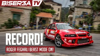 Roger Feghali - Full Run Falougha Hill Climb 2015 - New Record