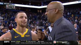 [BREAKING] Hawks beat Lakers 113-117; Warriors rout Jazz 115-108; K.Durant 28-pt❤️  Inside The NBA