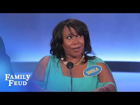 Woman repeats answers on Family Feud multiple times