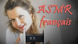 ASMR gentle MASSAGE ear to ear - mouth sounds - chuchotement EN FRANÇAIS