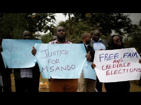 Protesters Demand Rapid Inquiry Into Murder Of Kenya Election Official
