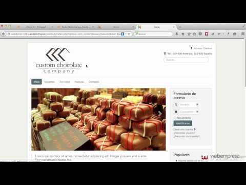 Resumen construcción sitio web Joomla 3 con Pack Webempresa desde cero