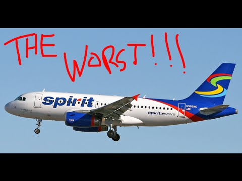 SPIRIT AIRLINES: THE WORST AIRLINE IN THE WORLD (DAY204)
