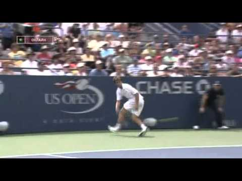 from the match vs Sergiy Stakhovsky, 2nd round in Us Open 2010, Stakhovsky won 6-3, 5-7, 3-6, 6-3, 7-6(6)