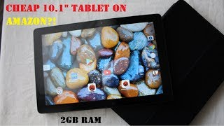"How Good Is A Cheap 10.1"" HD  Android Tablet w/2GB RAM On Amazon? (Winnovo VTab Unboxing)"