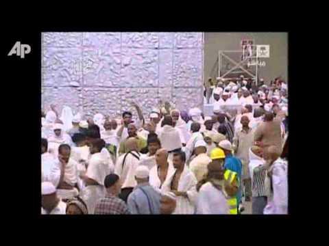 Raw Video: Hajj Pilgrimage in Mecca