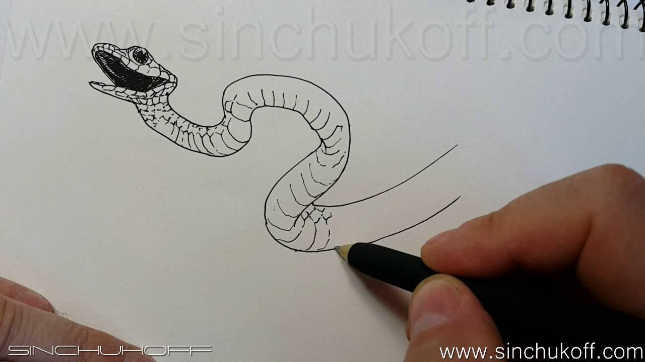 Рисуем поэтапно гелевыми ручками
