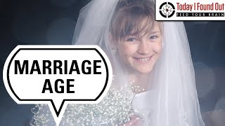 When Did Teen Girls Stop Commonly Getting Married?