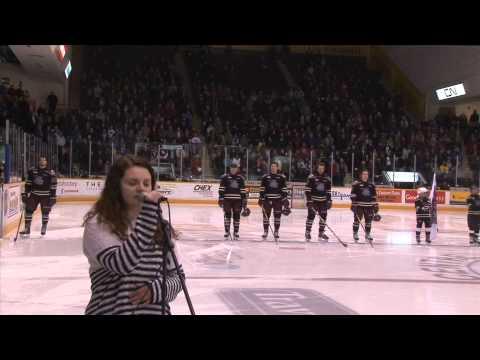 Melissa Post - O Canada - February 19, 2015