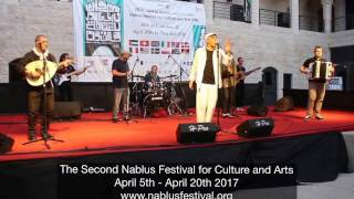 The Second Nablus Festival for Culture and Arts