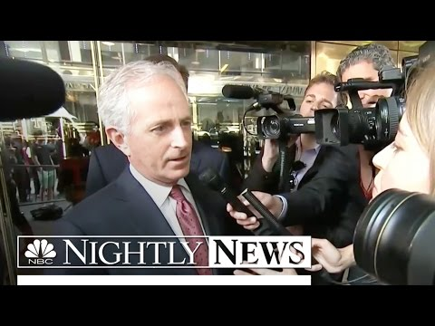 Sen. Corker's Meeting With Donald Trump Fuels VP Speculation | NBC Nightly News