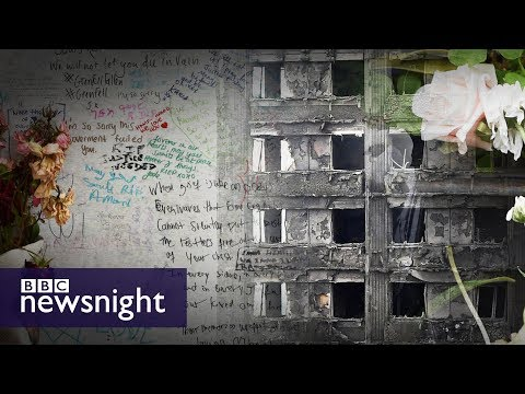 How many people lost their lives in the Grenfell Tower fire? - BBC Newsnight