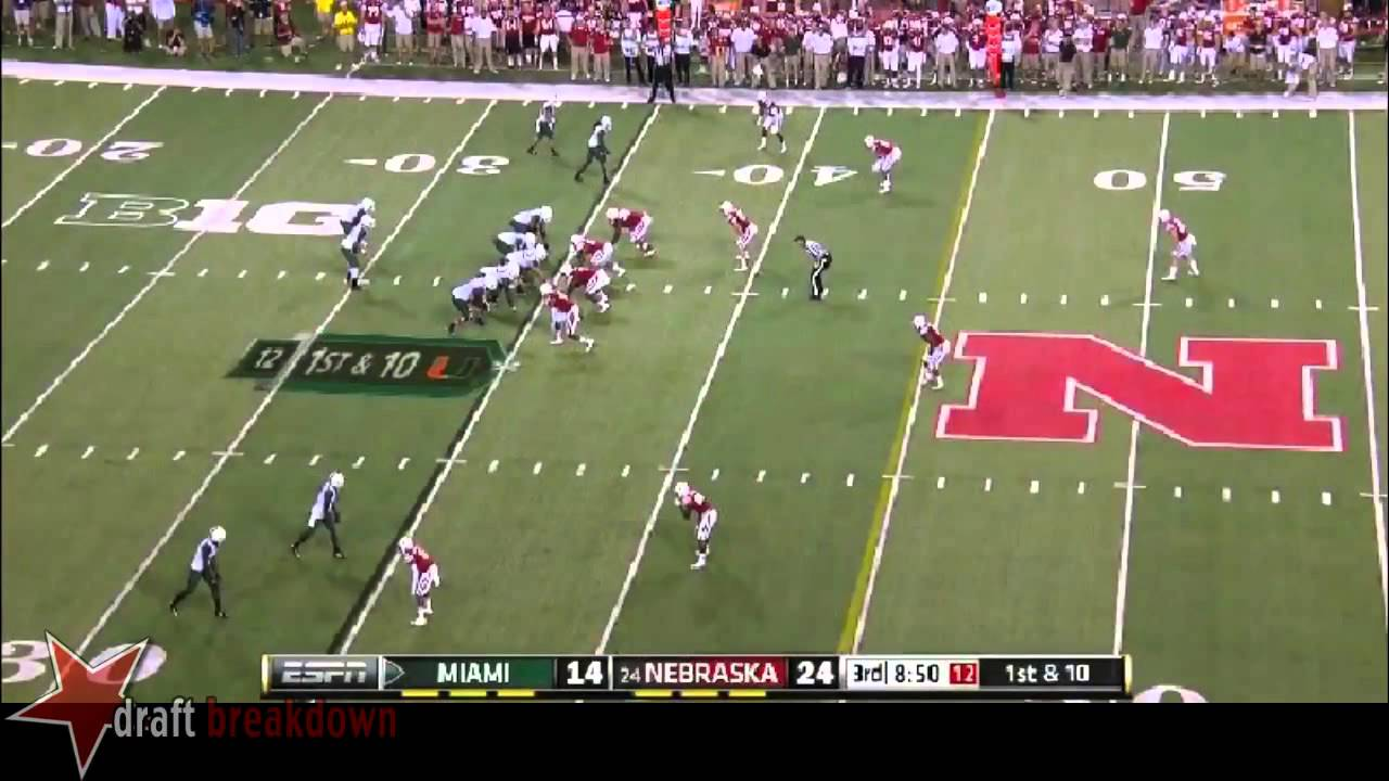 Randy Gregory vs Miami (2014)