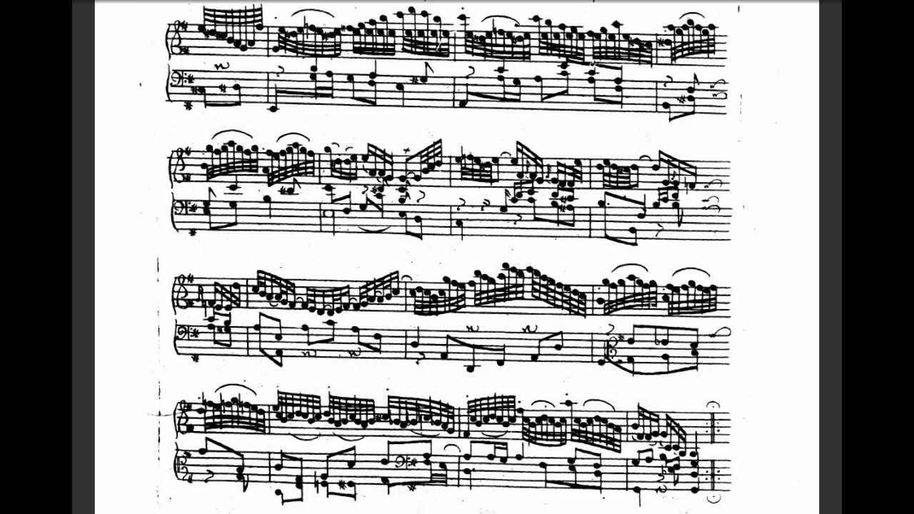 goldberg variations sheet music pdf