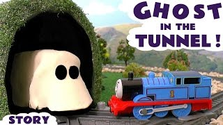 Thomas & Friends Toy Trains Ghost Prank with Play-Doh - Train Toys for kids and children TT4U