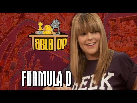 Formula D: Grace Helbig, Greg Benson, and Hannah Hart join Wil on TableTop Season 2 Ep. 1
