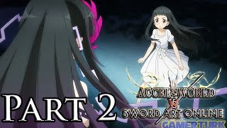 Accel World vs Sword Art Online - Yui and the Twilight Witch! [Part 2/PS4/English]