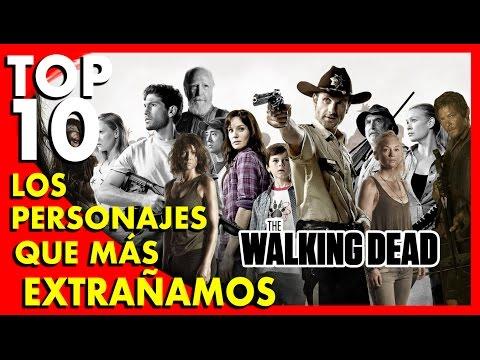 The Walking Dead : Los 10 personajes que más extrañamos - Pop Ten #7 |Popcorn News