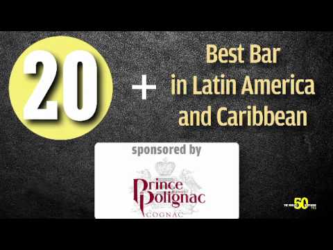 World's 50 Best Bars ceremony