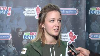 2011 Capital One Canada Cup of Curling -- Draw 8 Media Scrum