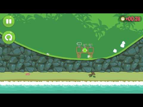 Let's Play Bad Piggies Part 2 - I AM AMAZING!!