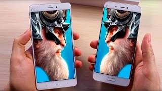 Сравнение Xiaomi Mi5 с Xiaomi MiNote - Битва Титанов
