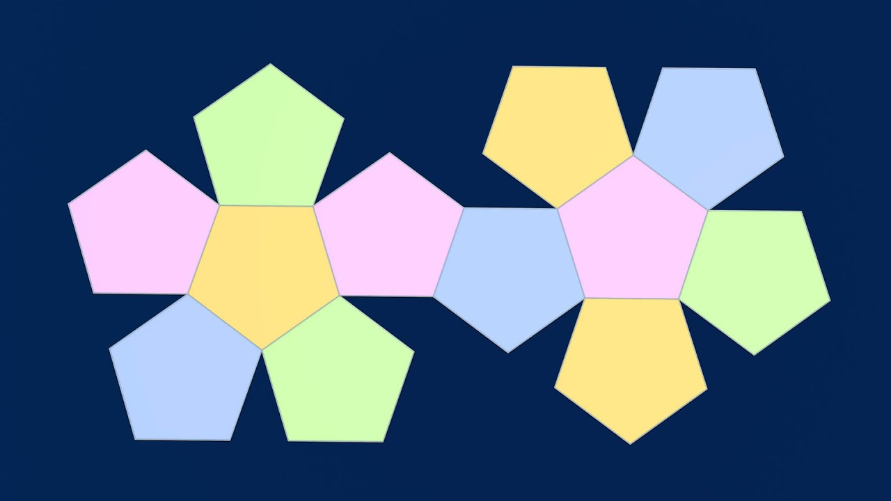 Make 3d Solid Shapes Dodecahedron