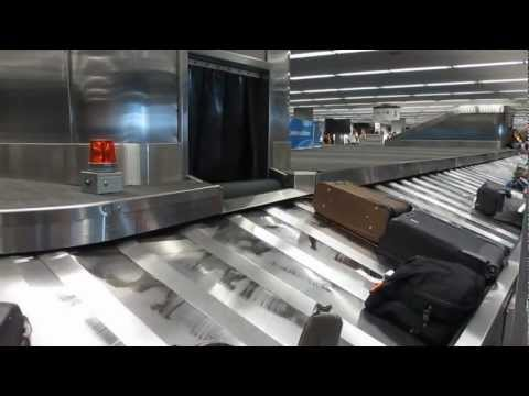 Baggage Claim San Francisco International Airport California video