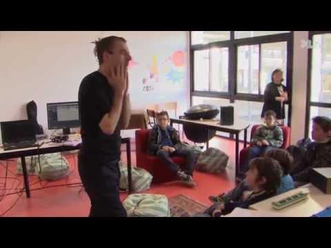 Un chanteur & comédien au collège de Morcenx