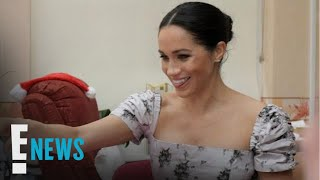 Meghan Markle Flaunts Baby Bump at Charity Outing | E! News