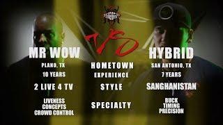 KBL Presents MR WOW vs HYBRID