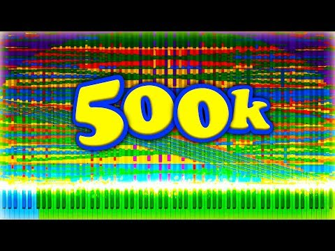 500,000 SUBSCRIBERS 500,000 NOTES - ULTRA CELEBRATION
