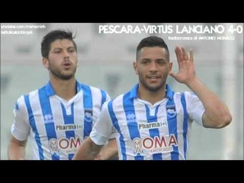 Pescara-Lanciano 4-0 - Radiocronaca di Antonio Monaco (8/5/2016) da Rai Radio 1