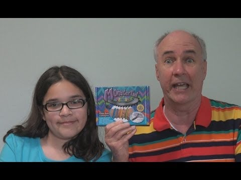 Monster Tail Review- new from Rainbow Loom   EpicReviewGuys in 4k