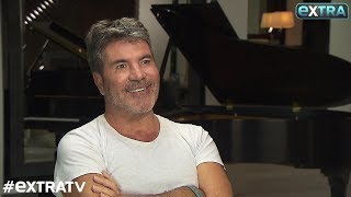 'Extra' Exclusive: How Simon Cowell's Son Motivates Him