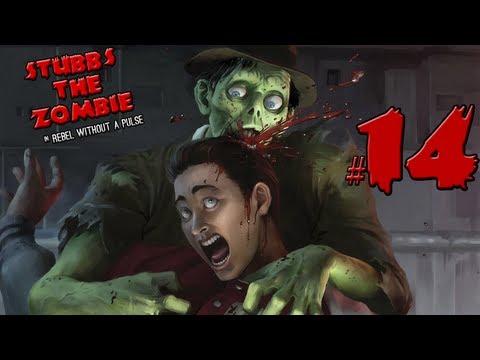 Stubbs the Zombie - часть 14: Мины и солдатики