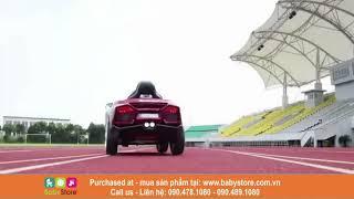 Ô tô điện trẻ em Lamborghini 6188 (2 động cơ mạnh, cánh mở cánh chim, BH 1 năm)