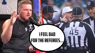 Pat McAfee Feels Bad For NFL Referees