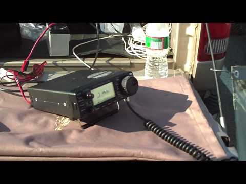 QRP Check-in to NorCars net from RVRC Hamfest June 19,2010